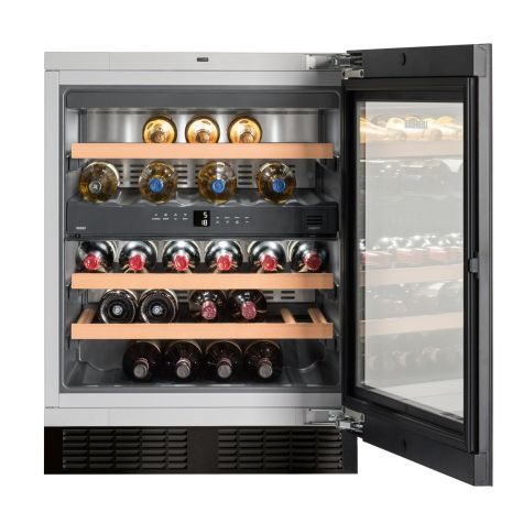 Liebherr UWTGB1682 Wine Cooler Under Worktop 34 Bottle 60cm A Energy