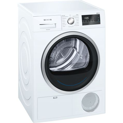 Siemens IQ-300 WT45N201GB Tumble Dryer Condenser 8 kg B White