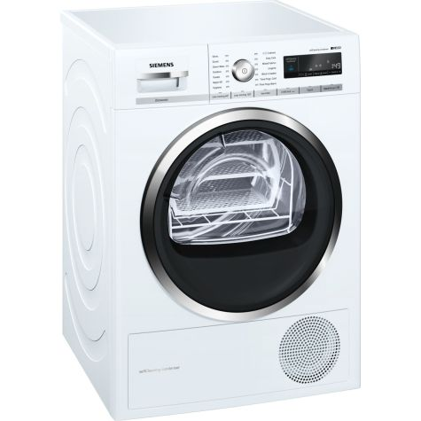 Siemens iQ500 WT47W591GB Tumble Dryer Condenser 8 kg A++ White