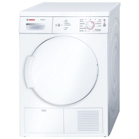 Bosch Serie 6 WTE84106GB Tumble Dryer Condenser Freestanding 7kg White