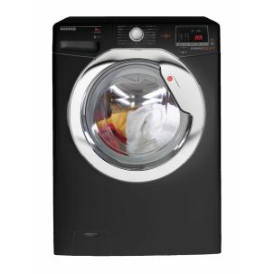 Hoover DXOC68AC3B Washing Machine Glossy Black 8kg 1600rpm A+++ Energy