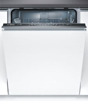 Bosch SMV40C30GB Fully Integrated 12 Place Setting Dishwasher with Black Control Panel and Fixed Door Fixing Kit A+