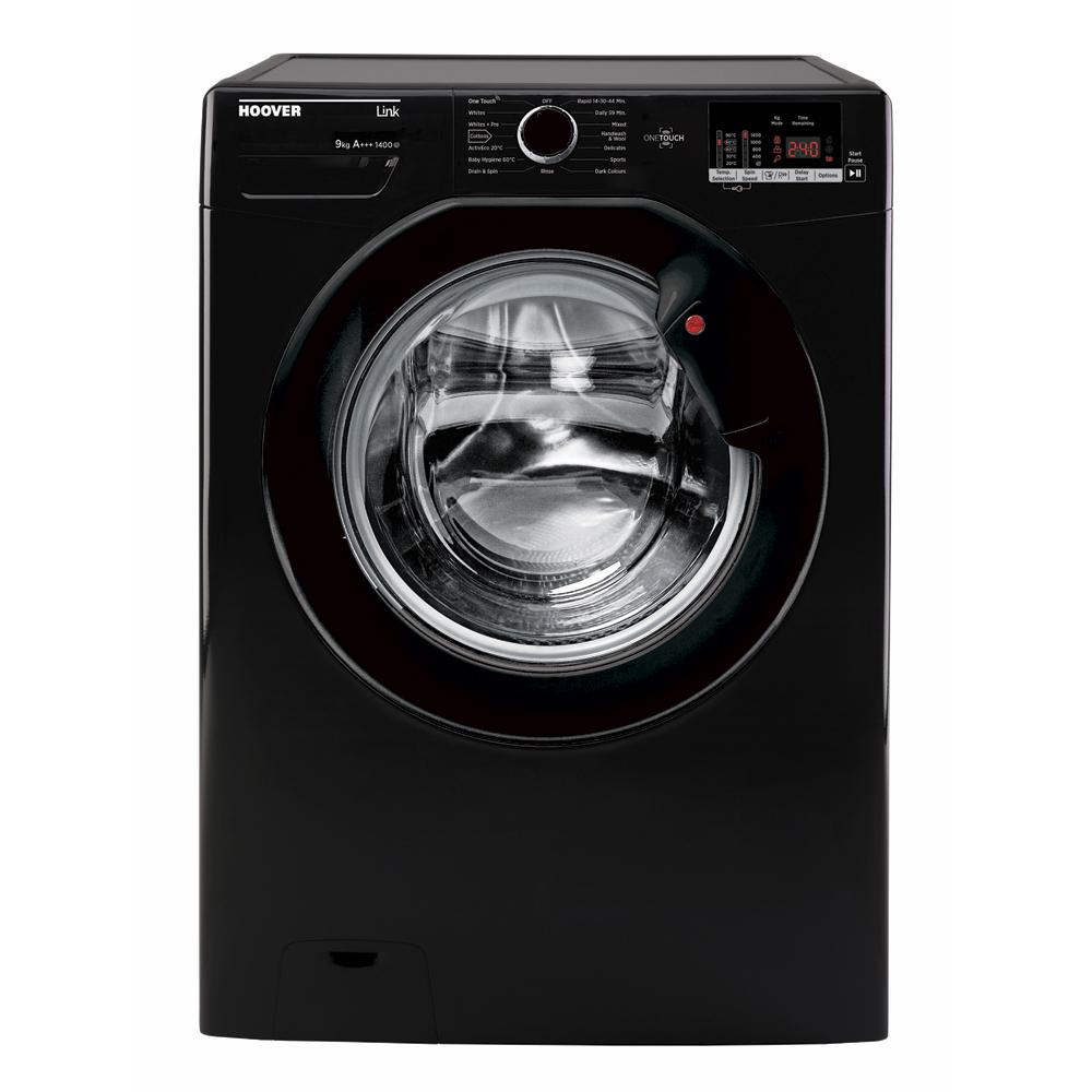 Hoover DHL149DB3B Washing Machine Freestanding 9kg 1400rpm A+++ Black