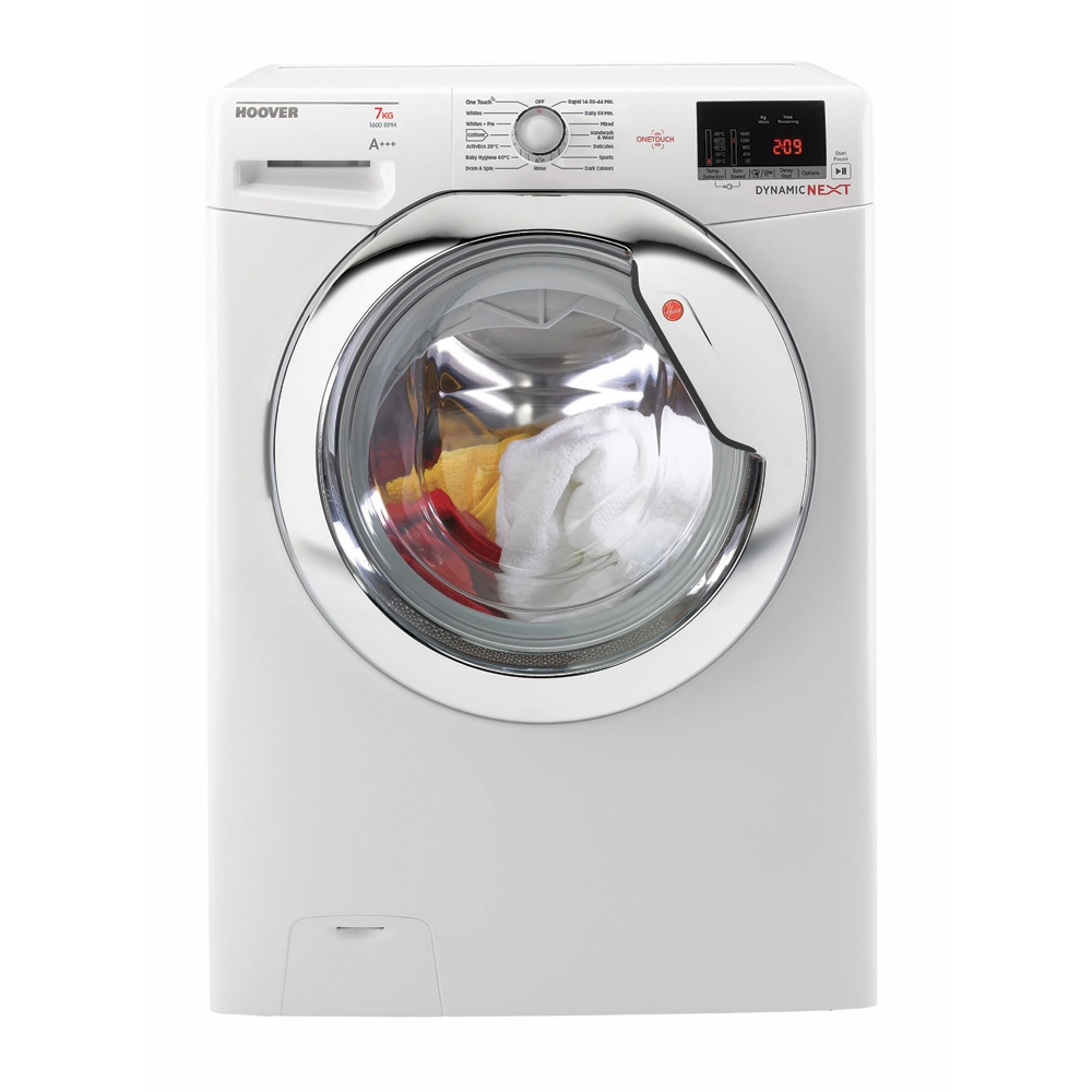 Hoover DXOC67C3 Washing Machine White 7 Kg 1600rpm A+++ Energy Rating