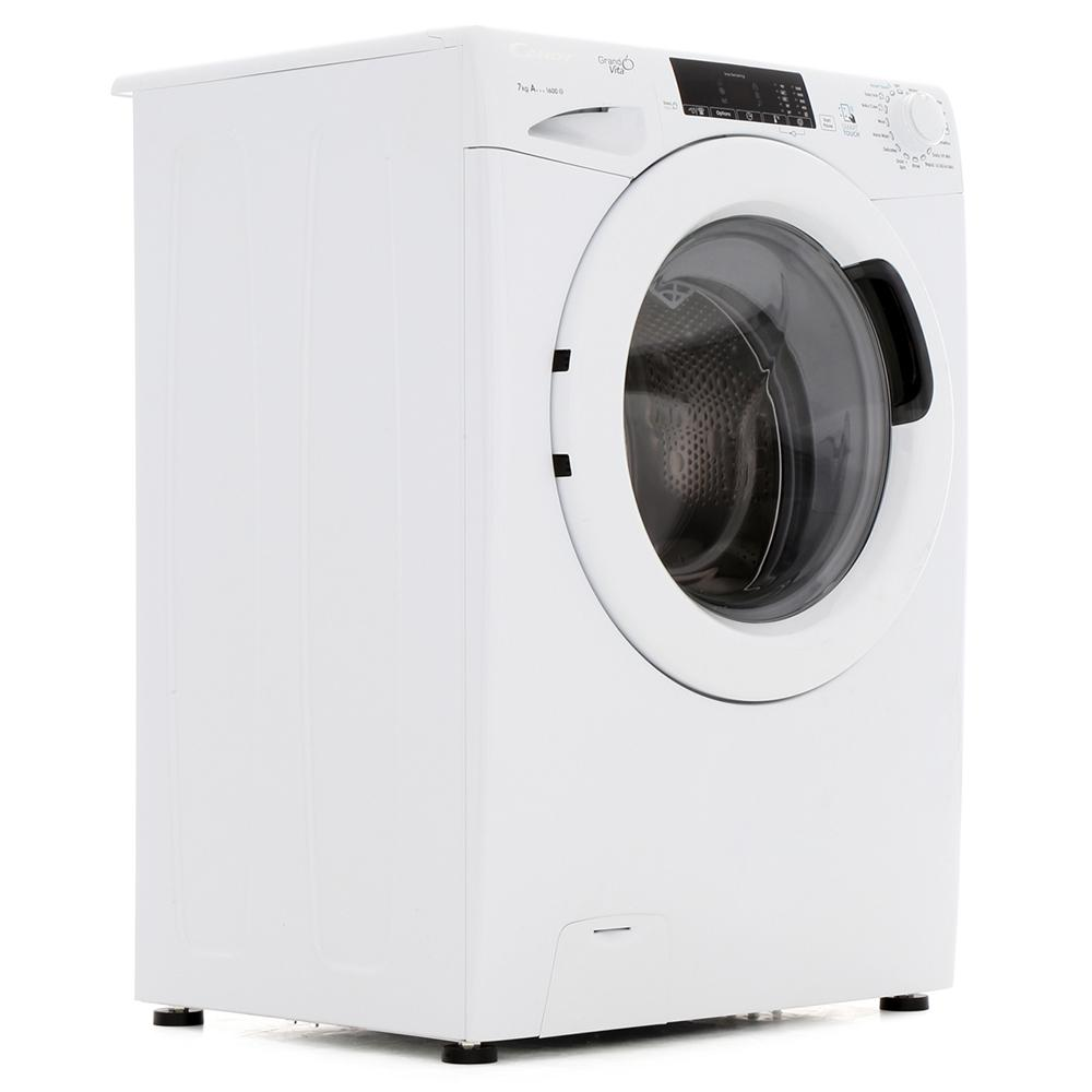 Candy GVS167T3 Washing Machine Freestanding 1600rpm 7kg A+++ White