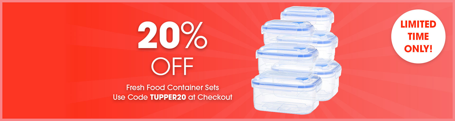 mychoice fresh food container sets