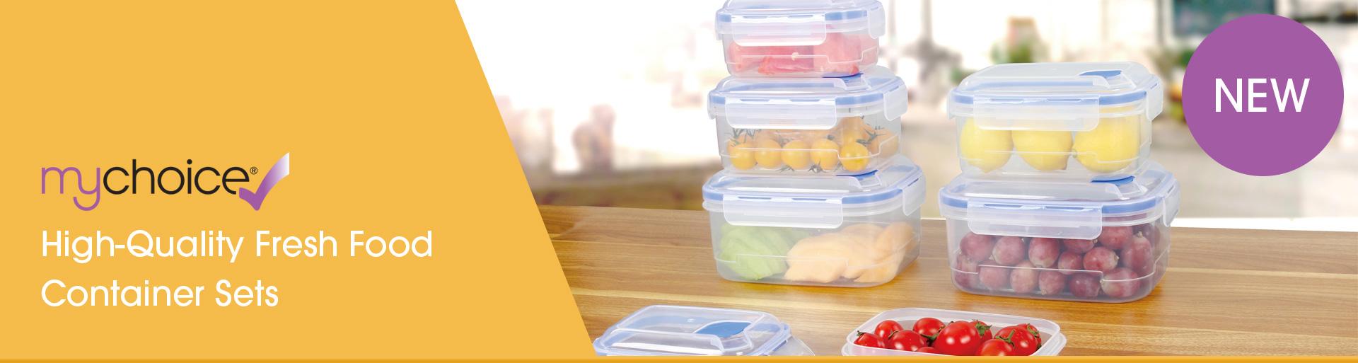 mychoice fresh food container sets